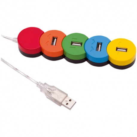 Puerto USB Arcoiris